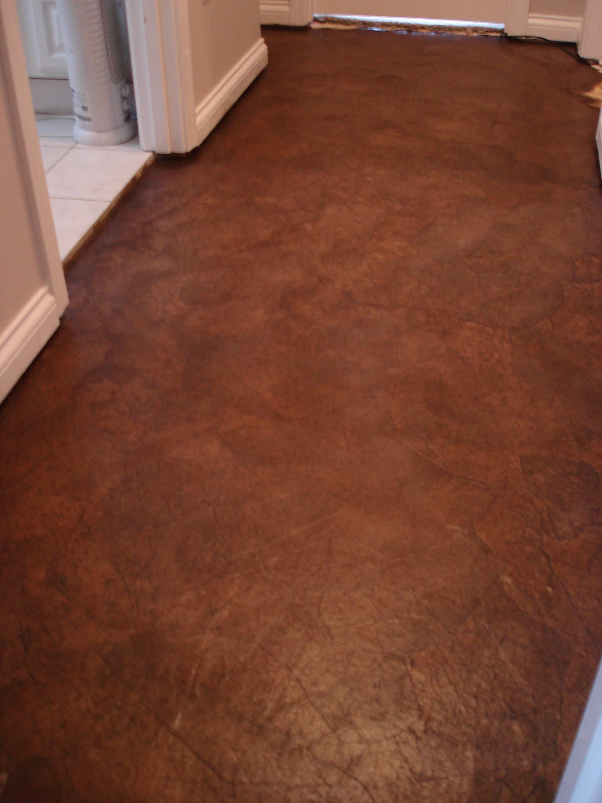 Pretty Much Worthless Ramblings Mine The Ultimate Brown Paper Flooring Guide