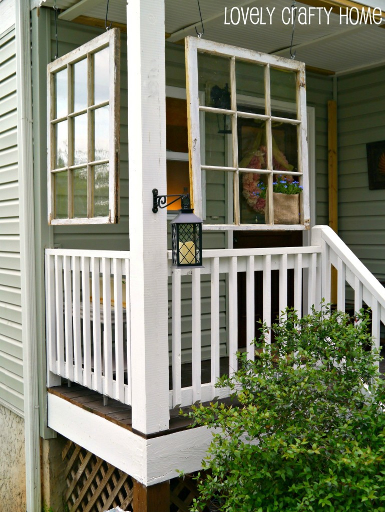 A happy accident for Porch window ideas