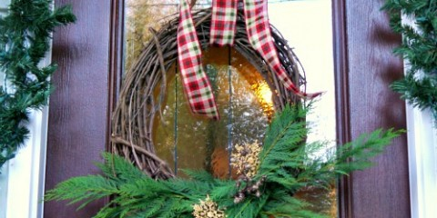easy 5 minute holiday wreath a