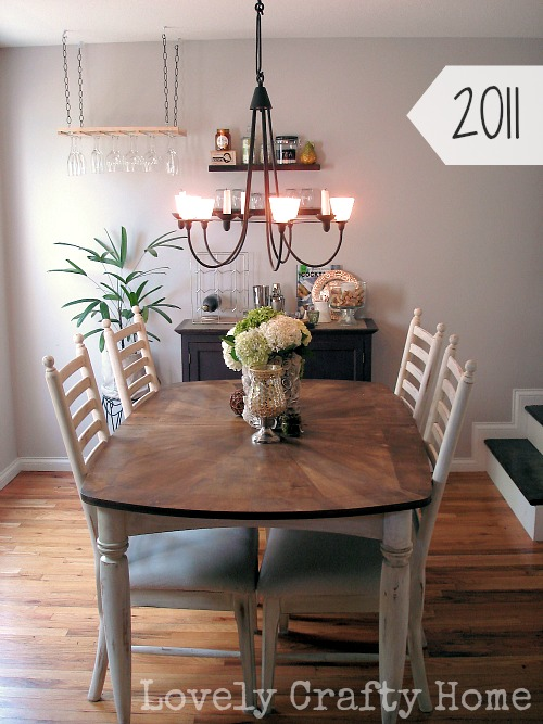 Dining Room New Table 2011