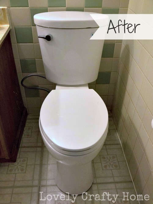 corrente toilet installation