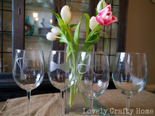 martha stewart etched glass