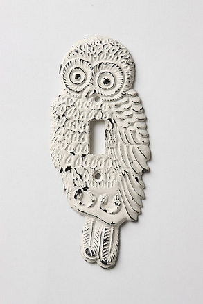 owl switchplate