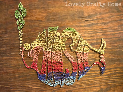 diy string art phish