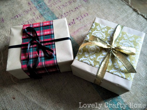gift wrapping for christmas