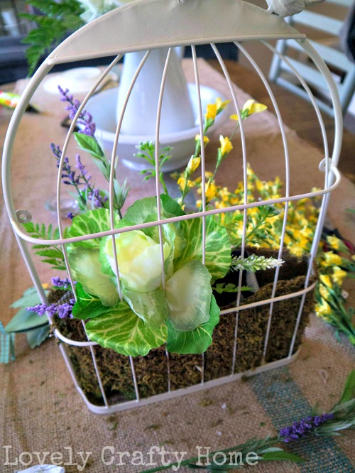 birdcage door arrangement