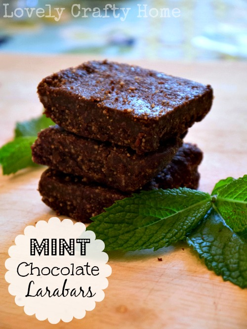 DIY Mint Chocolate Larabars