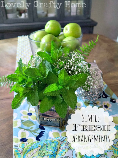 Tips for Simple Fresh Arrangements