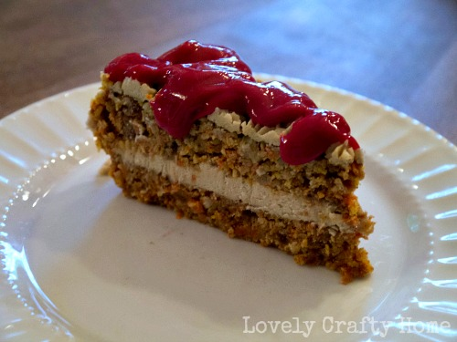 date sweetened raw carrot cake