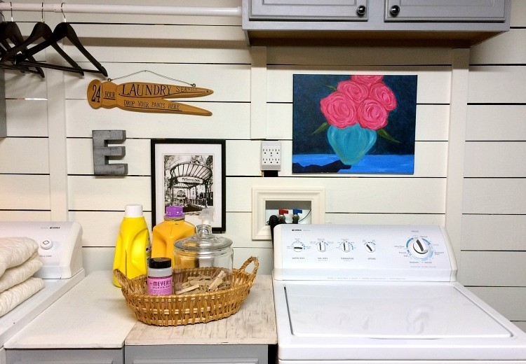 Laundry Room - Trim Addition