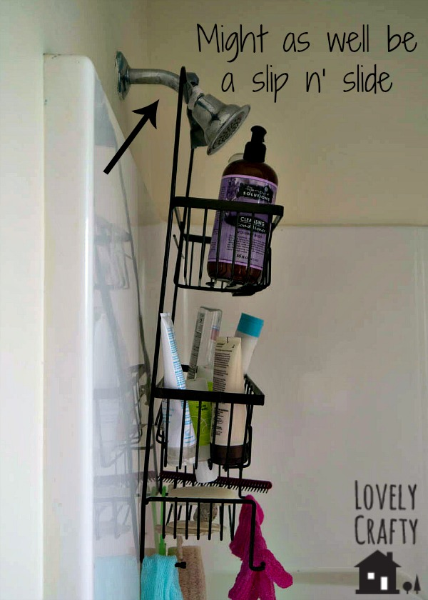 Shower Caddy Hack – Before
